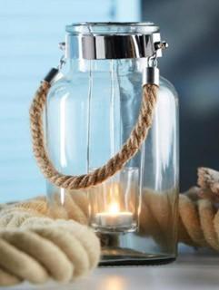 Besondere Geschenkideen in Ihrer Nähe: Windlicht mit Teelichthalter