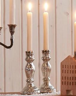 Besondere Geschenkideen in Ihrer Nähe: Kerzenhalter (silberfarben)