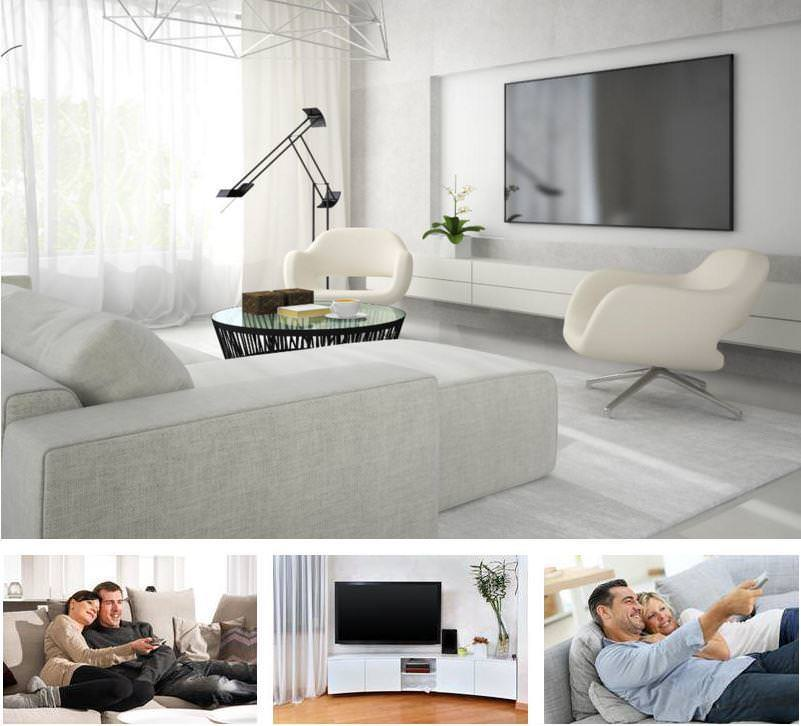 Hochwertiges Geschenk für Männer: Luxuriöser Fernseher