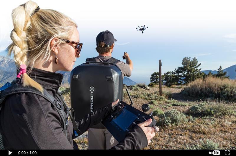 Besondere Geschenkideen aus Würzburg: Hexakopter-Drohne mit Videofunkton