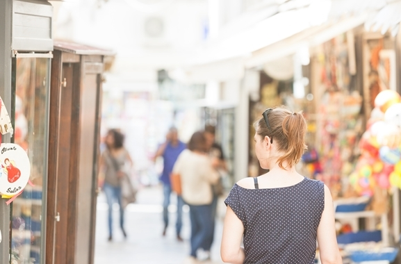 Geschenke kaufen in Düsseldorf: Überall in Düsseldorf lassen sich Geschenke finden