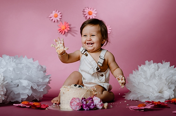 Besondere Geschenkideen aus Hameln: Cake-Smash-Fotoshooting