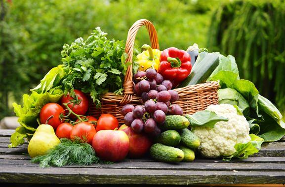 Besondere Geschenkideen aus Mitterteich: Gemüsekorb