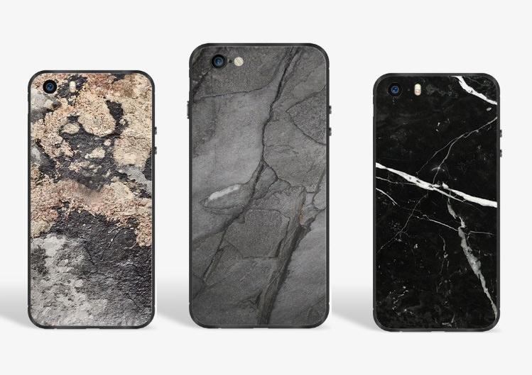 Hochwertiges Geschenk für Männer und Frauen: Hochwertiges iPhone Cover aus echtem Schiefer