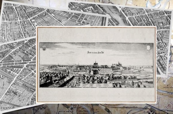 Besondere Geschenkideen aus Celle: Alte Stadtansicht von Celle