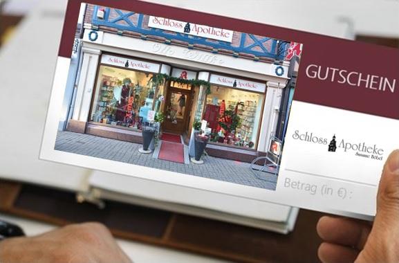 Besondere Geschenkideen aus Wolfenbüttel: Geschenkgutschein aus der Apotheke