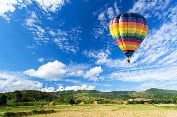 Besondere Geschenkideen aus Müncheberg: Ballonfahrt