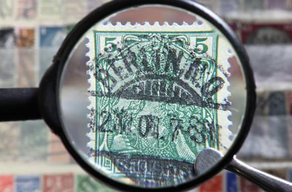 Besondere Geschenkideen aus Würzburg: Briefmarken