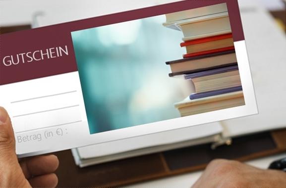 Besondere Geschenkideen aus Soltau: Geschenkgutschein aus der Buchhandlung
