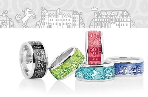 Besondere Geschenkideen aus Celle: Celle Ring von Zebra Design
