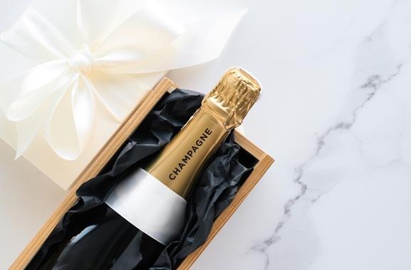 Besondere Geschenkideen aus Marne: Champagner