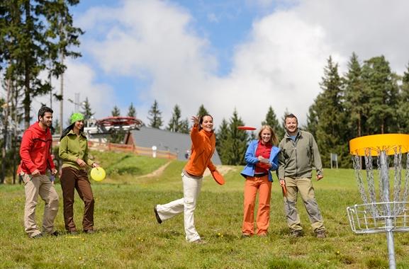 Besondere Geschenkideen aus Peine: Disc-Golf-Erlebnis