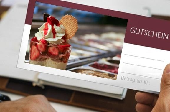 Besondere Geschenkideen aus Lüneburg: Eiscafe-Gutschein