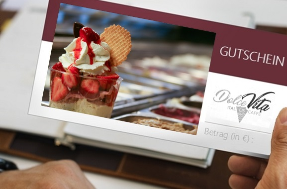 Besondere Geschenkideen aus Itzehoe: Eiscafé-Gutschein