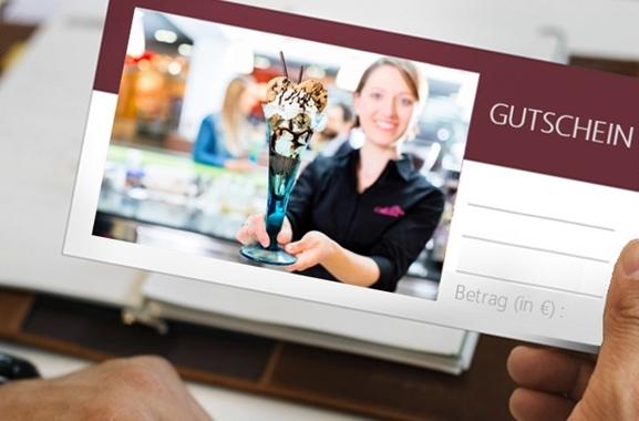 Besondere Geschenkideen aus Dortmund: Eiscafé-Gutschein