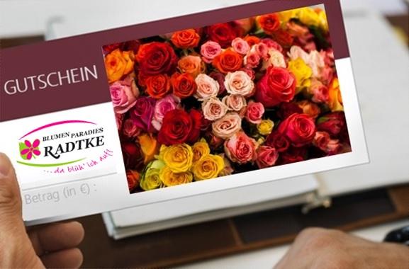 Besondere Geschenkideen aus Soltau: Gutschein aus dem Blumenfachgeschäft