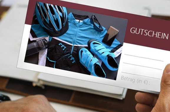 Besondere Geschenkideen aus Soltau: Gutschein aus dem Fahrradfachgeschäft