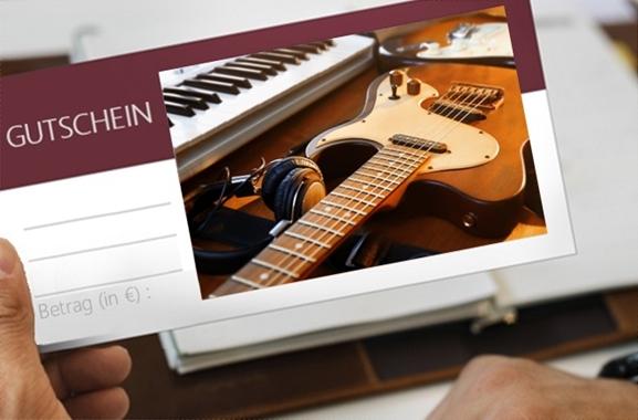 Besondere Geschenkideen aus Uelzen: Gutschein aus dem Musikfachgeschäft