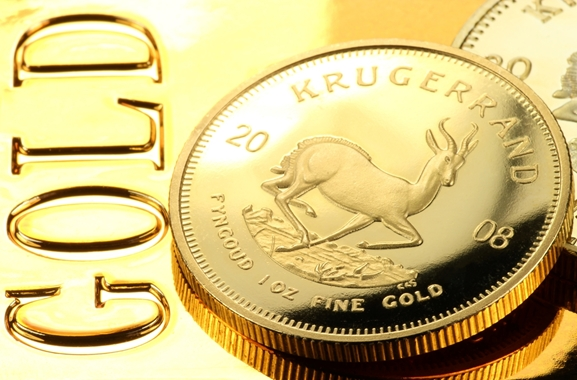 Besondere Geschenkideen aus Marne: Goldmünze