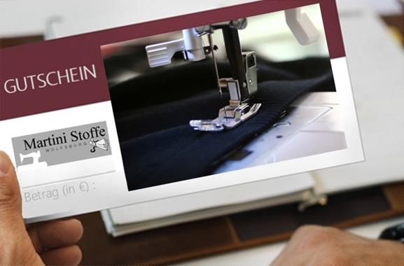Besondere Geschenkideen aus Wolfsburg: Gutschein aus dem Handarbeitsfachgeschäft