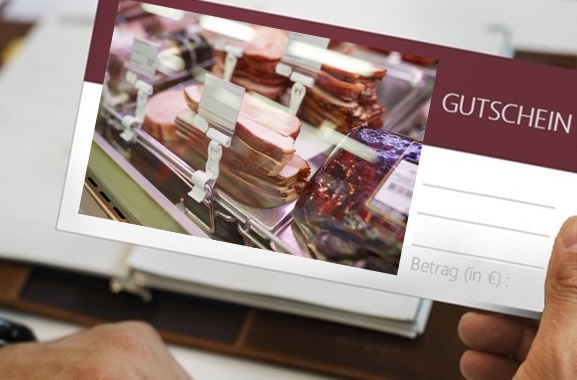 Besondere Geschenkideen aus Uelzen: Gutschein aus der Fleischerei