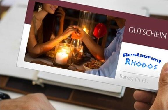 Besondere Geschenkideen aus Soltau: Gutschein für's Griechische Restaurant