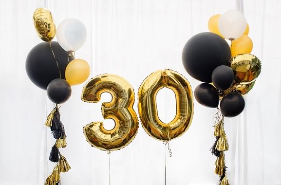Besondere Geschenkideen aus Celle: Hochwertige Ziffernballons