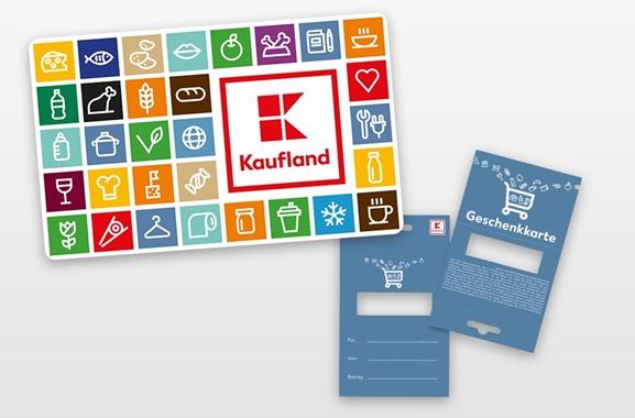 Besondere Geschenkideen aus Dortmund: Geschenkkarte von Kaufland