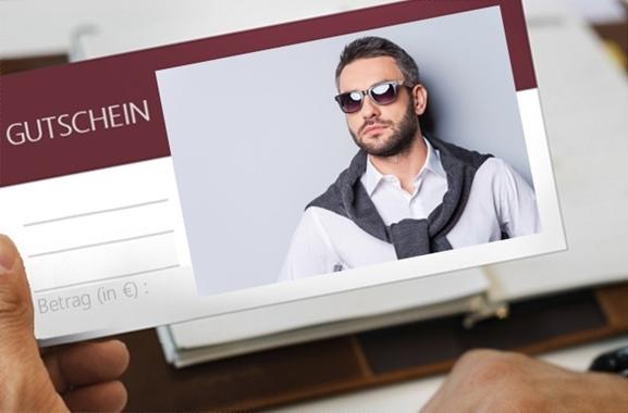 Besondere Geschenkideen aus Uelzen: Mode-Gutschein für Männer