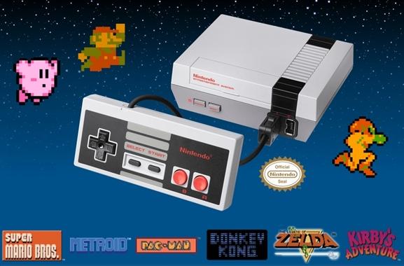 Besondere Geschenkideen aus Neumünster: Retro Nintendo mit Spieleklassikern