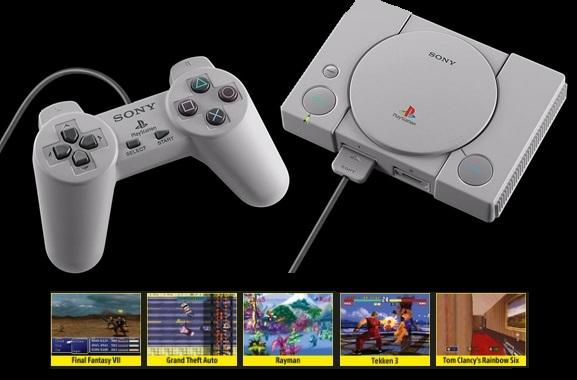 Besondere Geschenkideen aus Herford: Retro Playstation mit Spieleklassikern