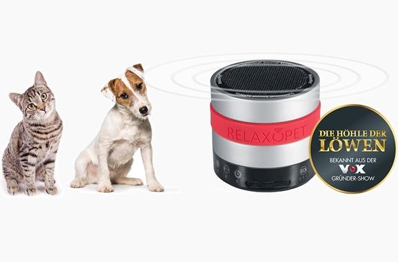 Besondere Geschenkideen aus Moosburg: RelaxoPet Entspannungsgerät für Hund & Katze