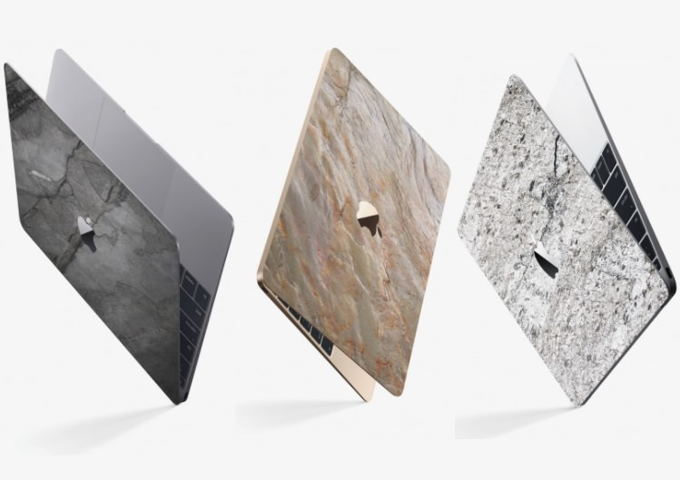 Hochwertiges Geschenk für Männer und Frauen: Hochwertiges Macbook Cover aus echtem Schiefer