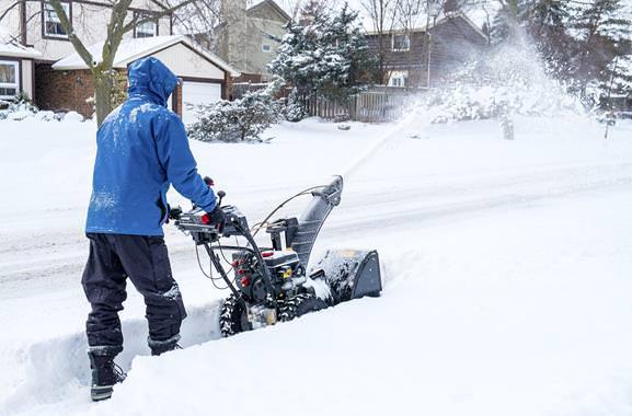 Besondere Geschenkideen aus Fürth: Schneefräse