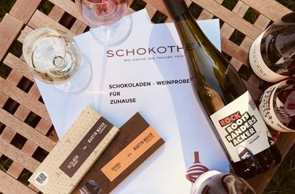 Besondere Geschenkideen aus Lüneburg: Schokoladen-Weinprobe für Zuhause