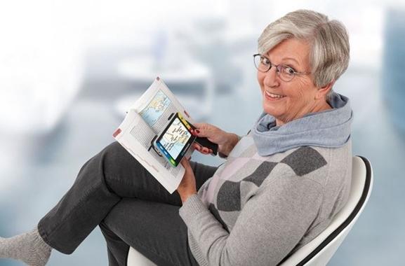 Besondere Geschenkideen aus Salzwedel: Elekronische Lesehilfe von Schweizer