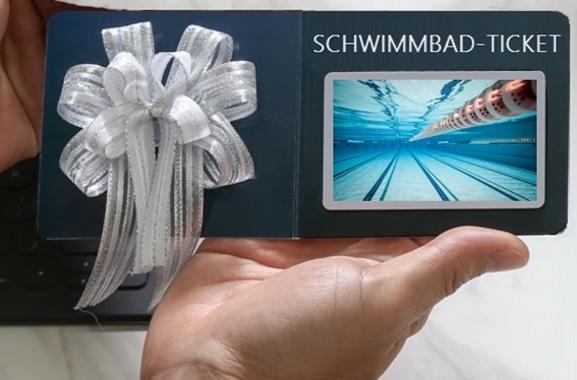 Besondere Geschenkideen aus Maintal: Schwimmbad-Tickets