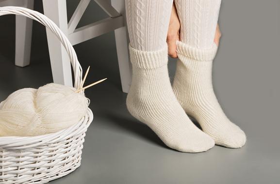 Besondere Geschenkideen aus Celle: Selbstgetrickte Socken