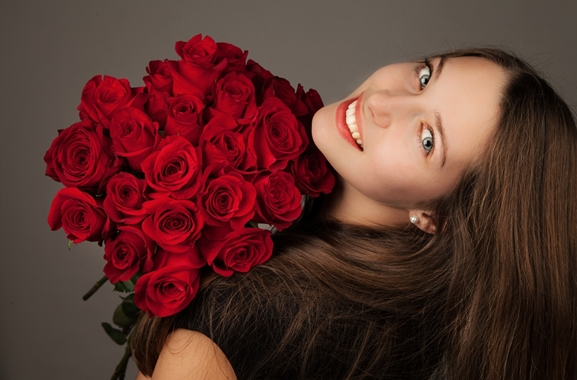 Besondere Geschenkideen aus Soltau: Strauß aus Rosen