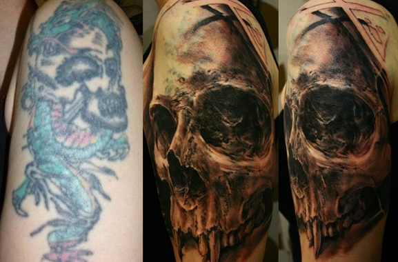 Besondere Geschenkideen aus Hameln: Tattoo-Cover-Up