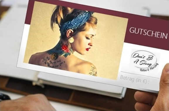 Besondere Geschenkideen aus Lübeck: Tattoo-Gutschein