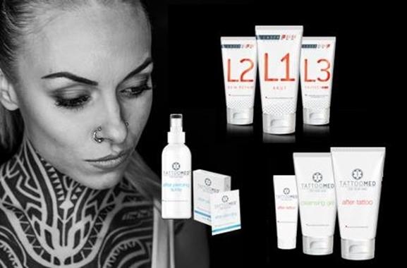 Besondere Geschenkideen aus Fürth: TattooMed: Pflege für tätowierte Haut