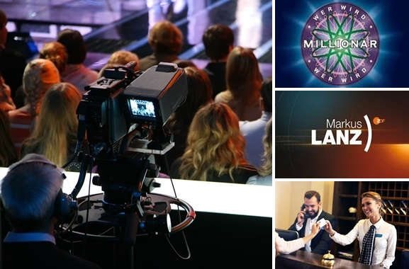Besondere Geschenkideen für Menschen aus Erlangen: Tickets für eine TV-Show