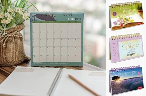 Besondere Geschenkideen aus Moers: Inspirierenden Tischkalender