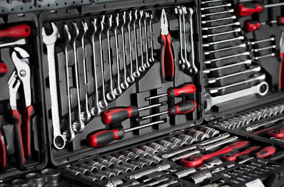 Besondere Geschenkideen aus Fürth: Werkzeugkoffer