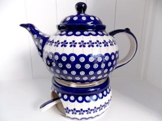 Besondere Geschenkideen in Celle: Bunzlauer Keramik Teekanne