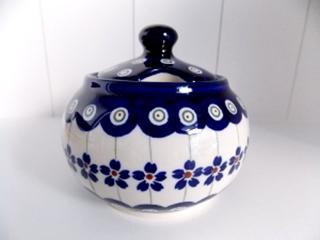 Besondere Geschenkideen in Celle: Bunzlauer Keramik  Zuckerdose