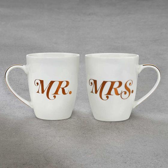Besondere Geschenkideen in Ihrer Nähe: MR.& MRS. Tassen-Set