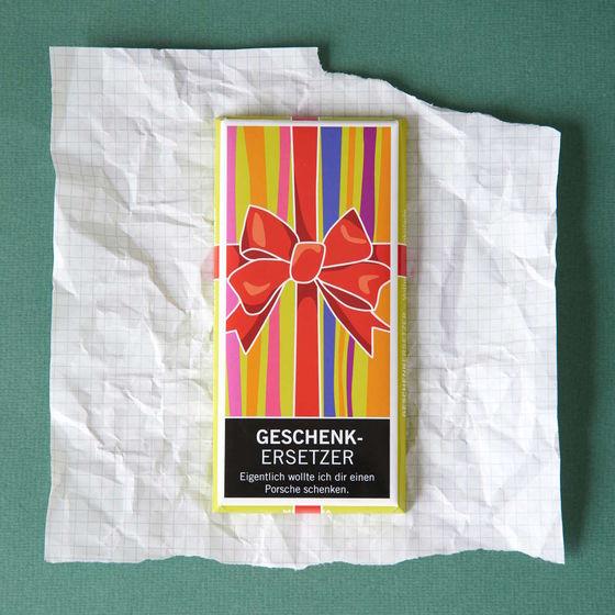 Besondere Geschenkideen in Ihrer Nähe: Schokoladentafel
