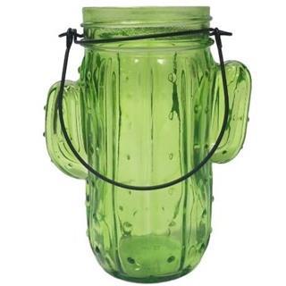 Besondere Geschenkideen aus der Region: Kaktus Teelichthalter